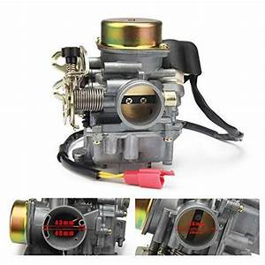 Motorcycle Cvk 30mm Carburetor Carb Moped For Keihin Gy6
