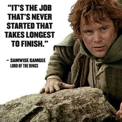 Inspirational Quote From Lord of the Rings