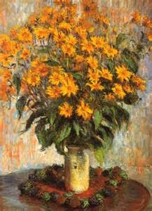 Claude Monet Flowers