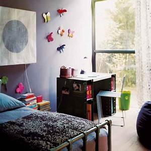 Chambre Deco Industrielle : une chambre de fille esprit industriel marie claire maison ~ Zukunftsfamilie.com Idées de Décoration