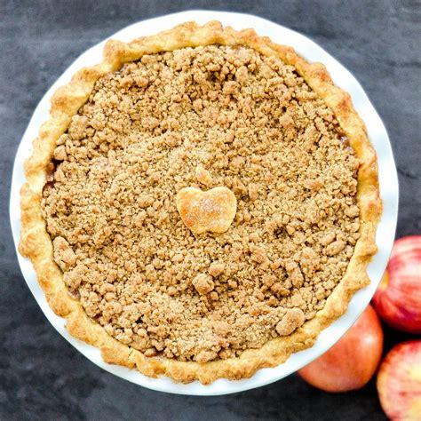 best apple pie the best apple crumble pie recipe joyfoodsunshine