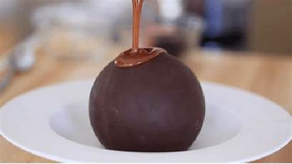 Chocolate Melting Dessert Ball Balls Pudding Melted