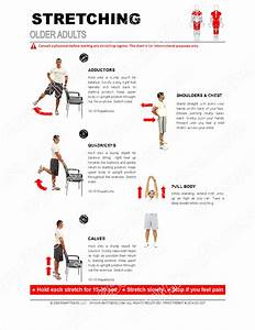 Stretching Guide For Older Adults
