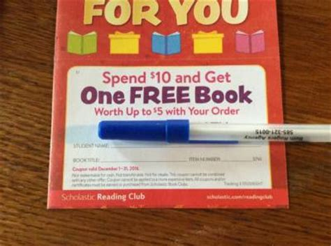 scholastic reader coupons