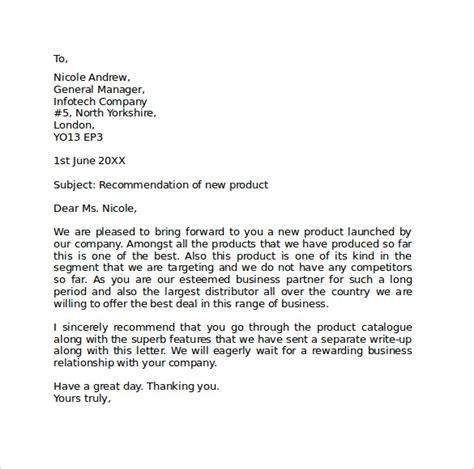 sample standard business letter format   documents