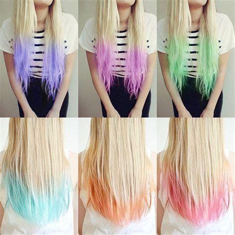 Dying Hair Color Ideas by Hair Color Ideas Dip Dye Hairfacebookgoogle