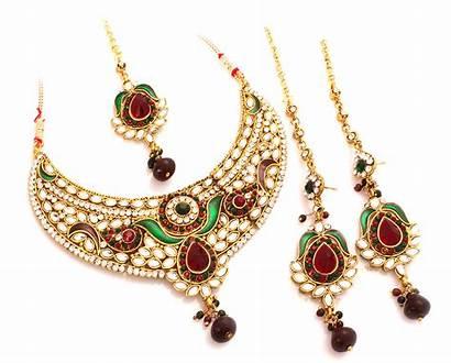 Jewellery Necklace Gold Kundan Sikh Ladies Jewelry
