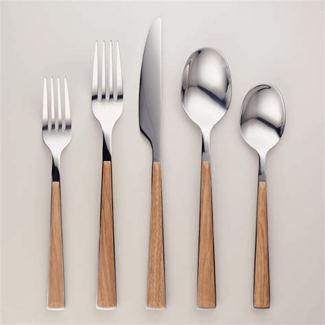flatware sawyer market modern entertaining outdoors silverware sets cost plus cutlery collection kitchenware scandinavian picks guest chic kitchen gold sumptuous