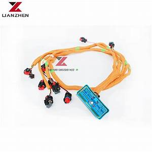 China Excavator Wiring Harness For Cat E320d 320d 296