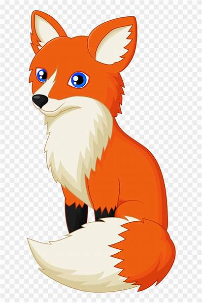 Fox Cartoon Clipart Animal Library