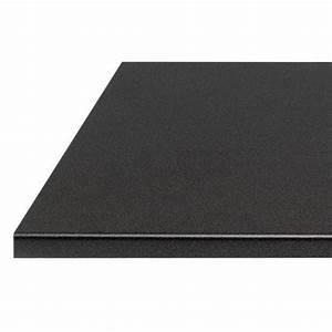 Plan De Travail 300 Cm : plan de travail noir lave stratifi 38 mm cuisine ~ Premium-room.com Idées de Décoration