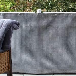 Sichtschutzmatten Kunststoff Meterware : balkonverkleidung kunststoffgeflecht silber anthrazit sichtschutz ~ Eleganceandgraceweddings.com Haus und Dekorationen