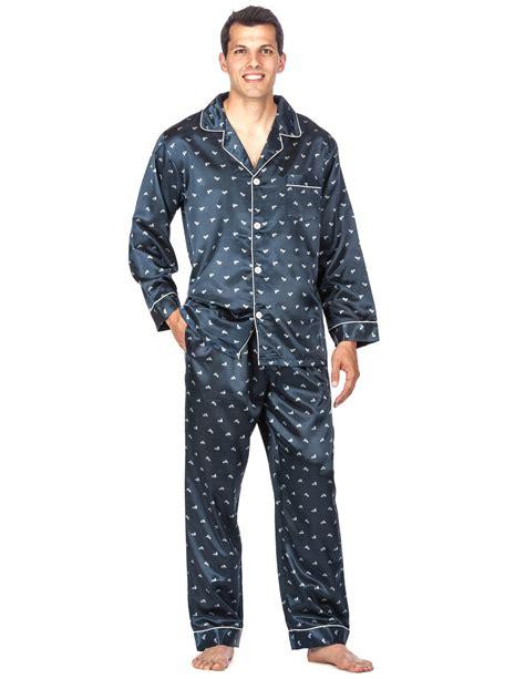 noble mount s premium satin pajama sleepwear set