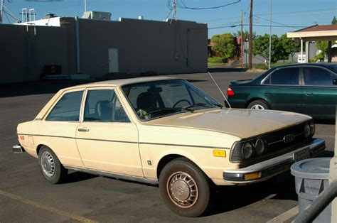 Old Parked Cars 1979 Audi Fox 100 Illinois Liver