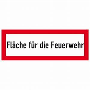 Rettungsleitern Für Den Brandfall : hinweisschild f r den brandschutz fl che f r die feuerwehr ~ Lizthompson.info Haus und Dekorationen
