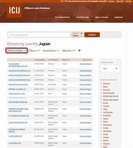 The database of quotpanama documentquot is finally released and for Panama documents search