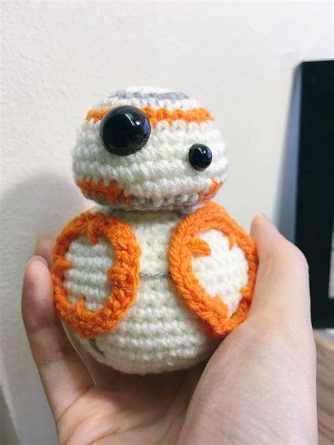 Crochet Star Wars Bb 8 Amigurumi Pattern The Force