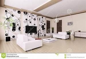 salon moderne 3d interieur illustration stock image du With plan d appartement 3d 16 appartement terrasse moderne illustration stock image