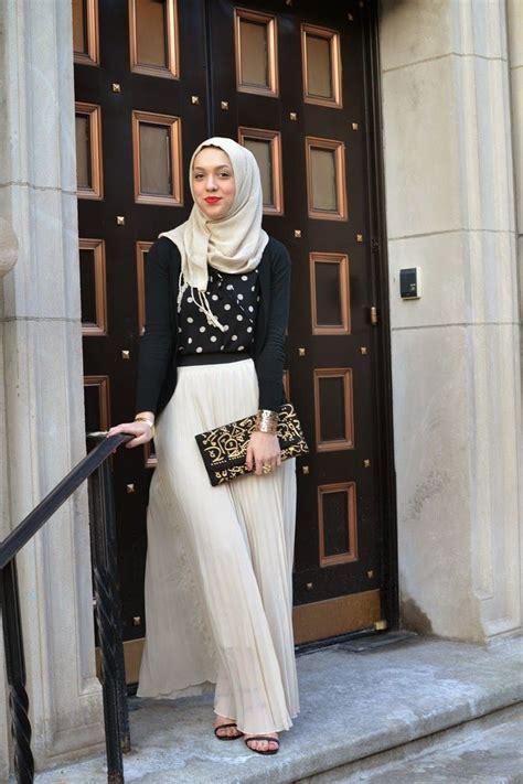 contoh model baju muslim  pesta terbaik