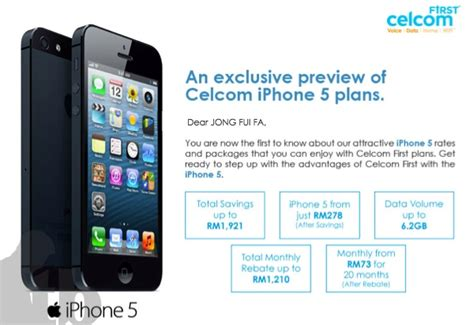 cheapest iphone plan celcom iphone 5 plans look thisbeast