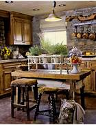 Rustic Kitchen Designs by Rustic Country Kitchen Decorating Ideas