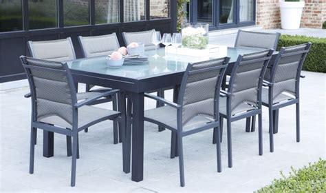 chaises salon pas cher table de jardin avec chaise pas cher mobilier jardin