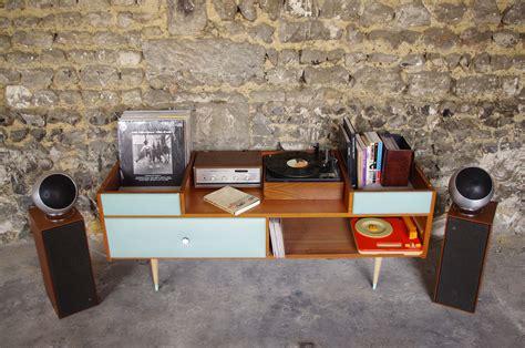 bureaux sur mesure coiffeuse vintage meuble hifi 1 rayré concept mobilier