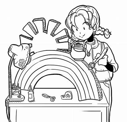 Dork Diaries Costume Coloring Pages Halloween Brianna
