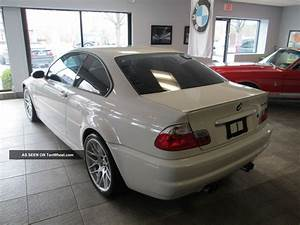 2002 Bmw M3 White Coupe Manual 6 Speed