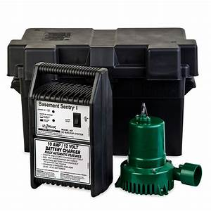 Zoeller Backup Sump Pumps