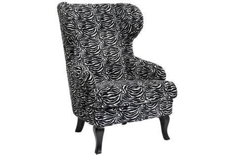 fauteuil 224 oreilles kare design zebra fauteuil design pas cher