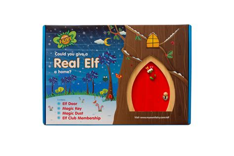 Red Elf Door