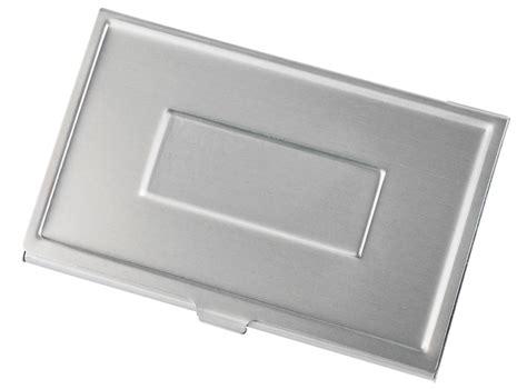 Visol Aluminum Business Card Holder