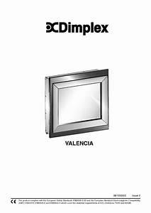 Dimplex Valencia Manuals