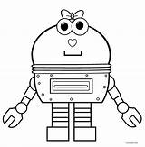 Robot Coloring Pages Clipart Printable Cool2bkids Robots Sheets Cool Template Cute Cartoon Printables Templates Colored Colors Boys Craft Library sketch template