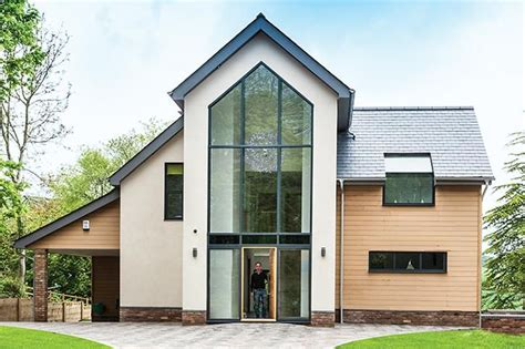 modern 4 bedroom house plans uk four bedroom eco home built with structural insulated 927   5fed92019086607304784953e462ff81