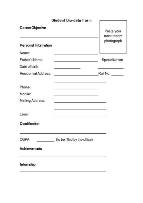 cv template word academic printable  zip