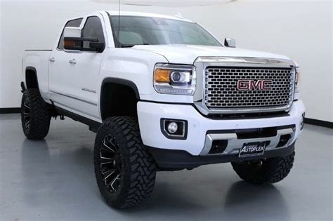16 GMC 2500HD Denali 7 Inch FTS Lift 22 Inch Fuel Wheels