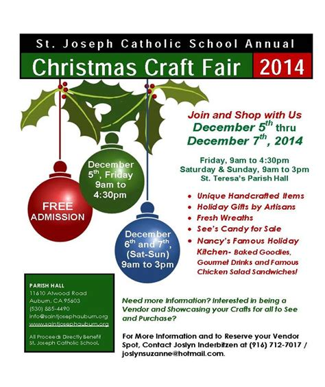 visit auburn california christmas craft fair 2014