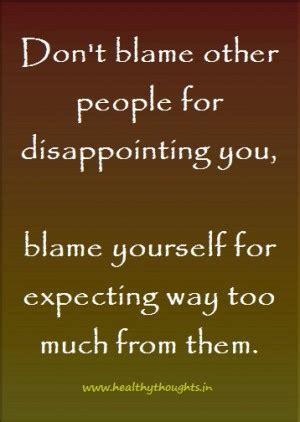 people  blame  quotes quotesgram