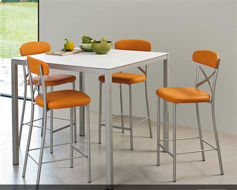 tables hautes de cuisine table et chaise haute pour cuisine