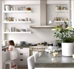 modern interiors open kitchen shelves ideas