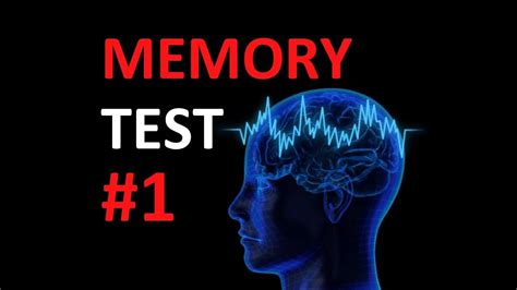 memory test amazing memory test self term memory tests by