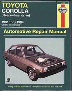Toyota Corolla Ke70  Rwd  1981