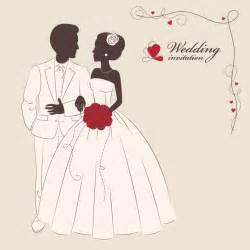 wedding vector wedding invitation 3 free vector graphic