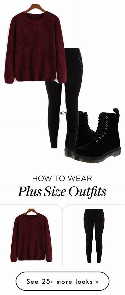 Polyvore Martens Outfits Dr Plus Casual Outfit