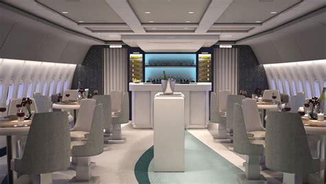 Boing 777 Interior by Custom Boeing 777 Built For Aircruises Around The