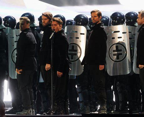 Take That live at the Brit Awards - Take That at the BRITs ...