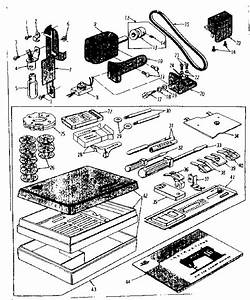 Kenmore 158162 Mechanical Sewing Machine Parts