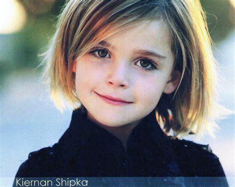 Adorable Little Girl With Chin Length Bob Haircut